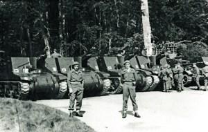 13th Royal Horse Artillery in Kiel, May 1945.