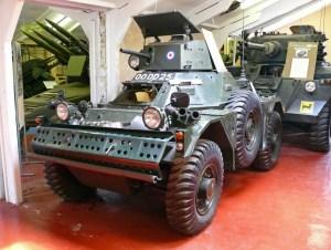 5. Daimler Ferret Scout Car