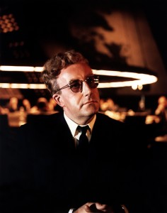 Columbia Pictures insisted that Peter Sellers appeared in the movie due to the success of the previous Kubrick/Sellers team-up film Lolita. He ended up playing three characters in total, including the bizarre and insane Dr Strangelove.
