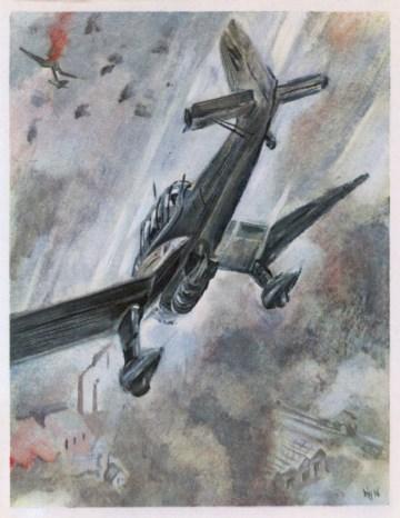 Stukas Dive Bombing