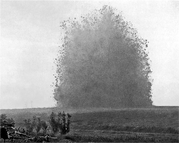 Hawthorn_Ridge_mine_1_July_1916