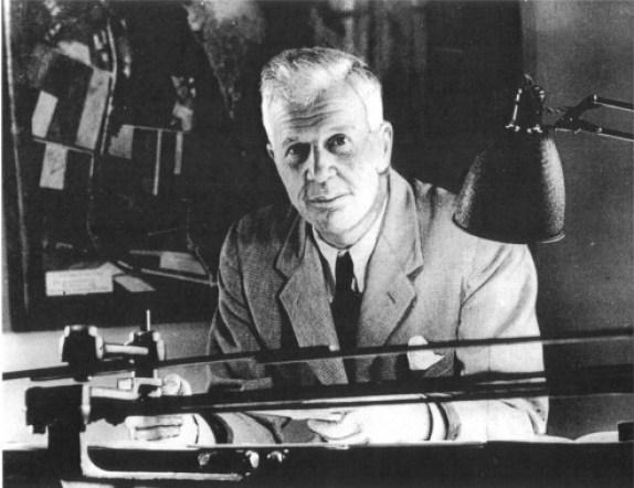 Barnes Wallis, 26 September 1887 – 30 October 1979.