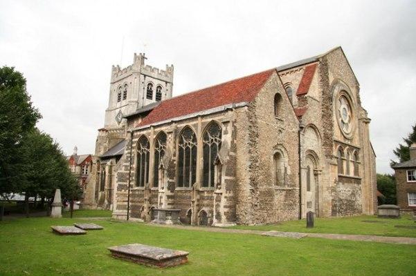 Waltham Abbey. Image: Richard Croft via WikimediaCommons CC BY-SA 2.0