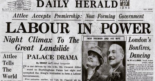 The 1945 Labour Party manifesto.