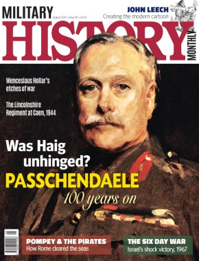 Front cover of Military History Monthly issue 83