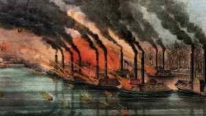 Bombardment Fort Henry 6 February 1862
