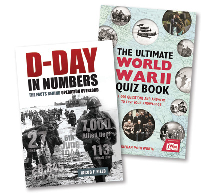 MHM 85 Quiz: Win a pair of Second World War Factbooks!