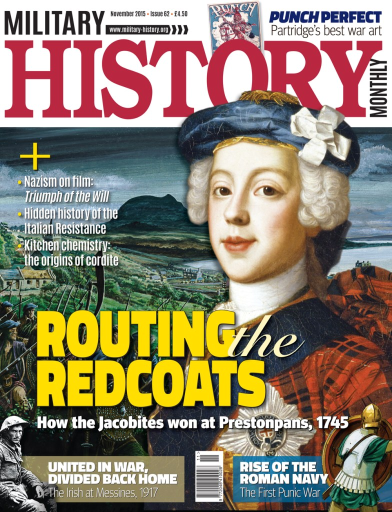 Front cover of Military History Monthly issue 62.