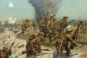 Brit Army WWI - cover