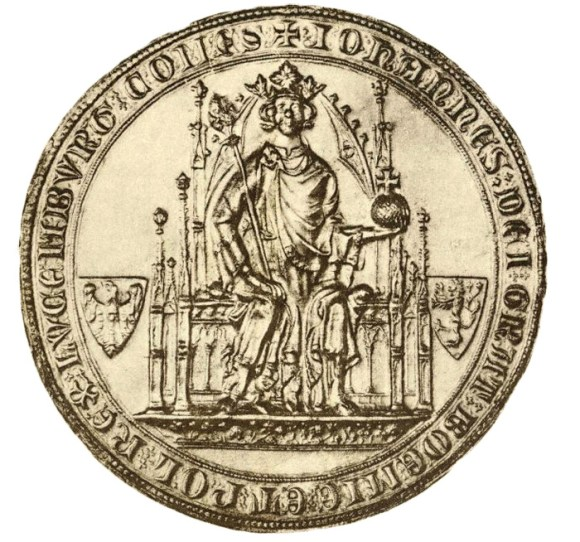 The seal of John the Blind