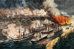 farragut's-fleet-in-action-at-Vicksburg