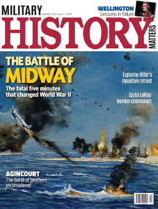 Front cover of Military History Matters 111, the December 2019 issue.