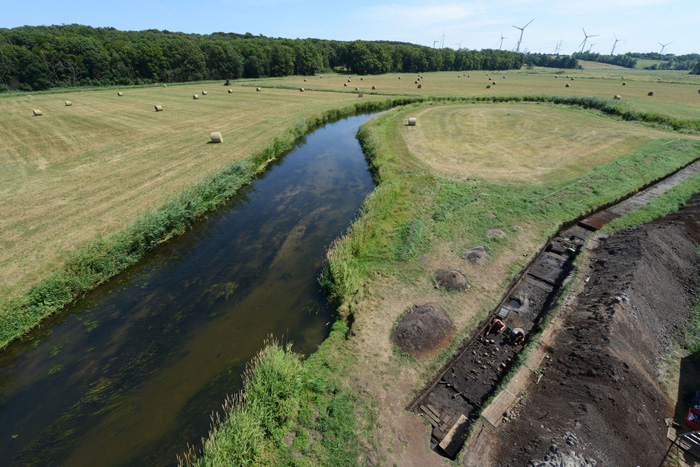 The Tollense River in North-Eastern Germany.   Image: Volker Minkus