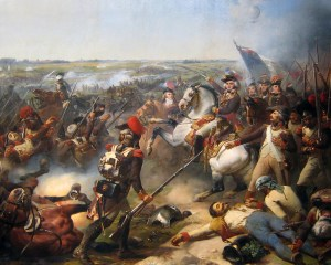 Jourdan at Battle of Fleurus