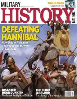Front cover of Military History Matters 114, the March 2020 issue.