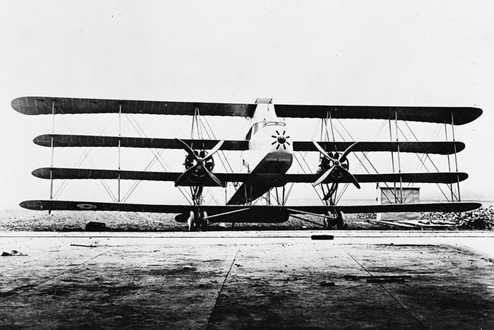 The Supermarine Nighthawk. Its weight was the main obstacle to success.