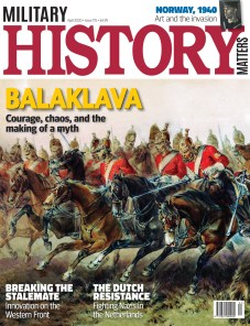 Front cover of Military History Matters 115, the April 2020 issue.