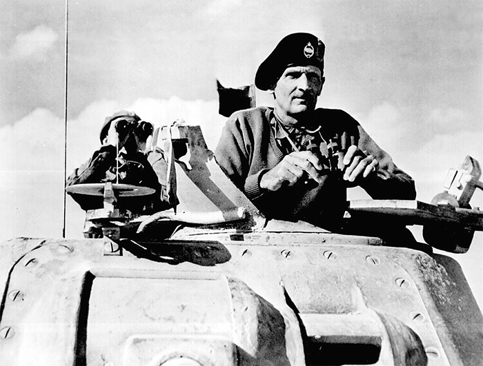 General Bernard Montgomery in North Africa, November 1942. Todman examines this crucial period of World War II at the beginning of his second volume.