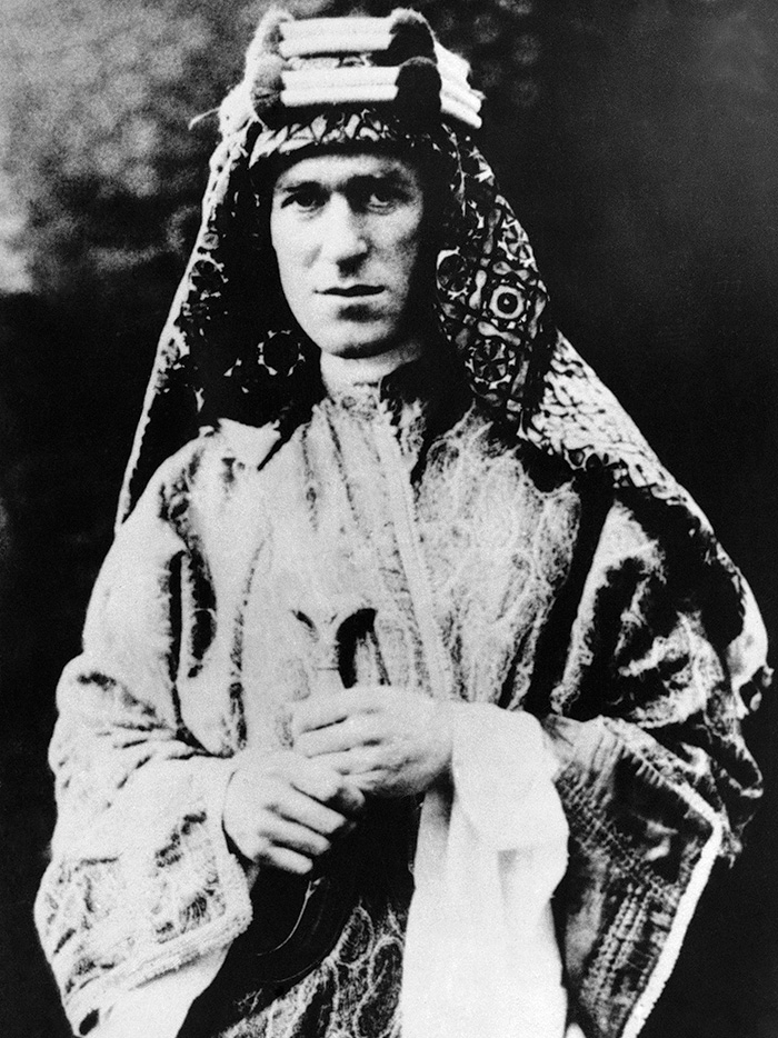 T E Lawrence. Despite his reputation as an amateur, he acutely understood the 'hard study and brainwork and concentration' that making war demanded.