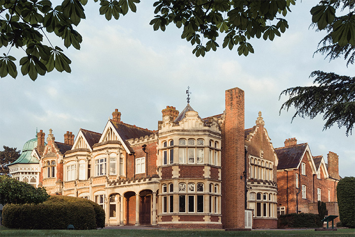 Bletchley Park in Buckinghamshire. The Victorian mansion is home to a museum dedicated to its codebreaking past, but it has struggled recently due to the pandemic.