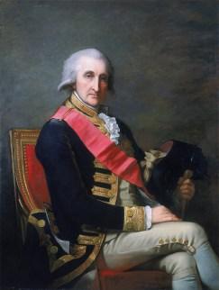 Admiral George Brydges Rodney (1718-1792).