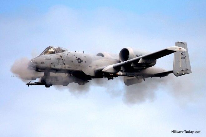 A-10 Thunderbolt II, aka Warthog