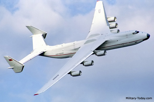 Antonov An-225 Mriya Strategic Airlifter | Military-Today.com
