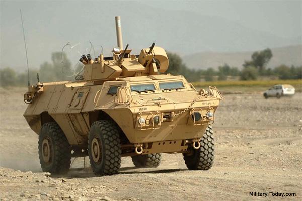 Vehículo blindado de seguridad M1117 Guardian