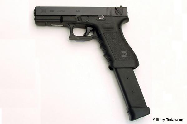 Glock 18 Automatic Pistol | Military-Today.com