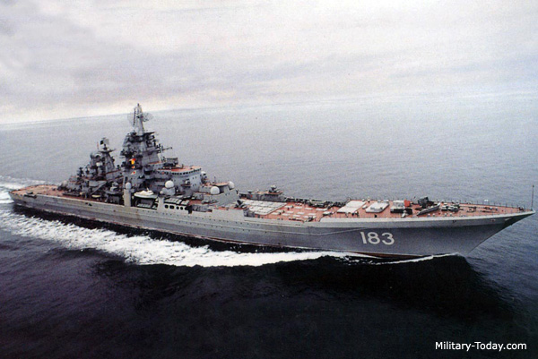 Cruzador classe Kirov (www.military-today.com)