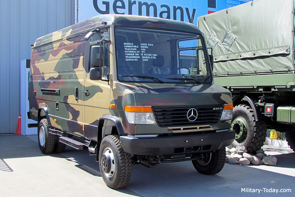 Mercedes-Benz Vario Light Utility Vehicle | Military-Today.com