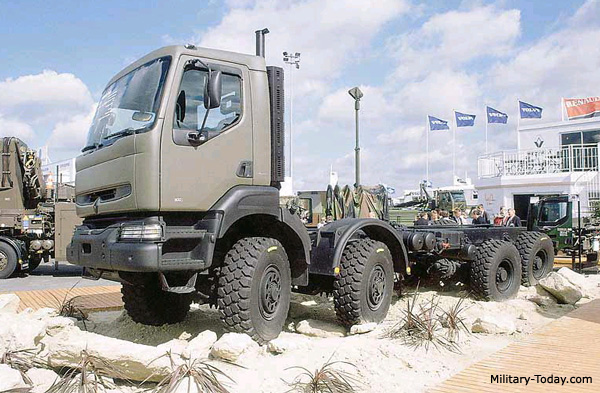 Renault Kerax 8x8 Heavy Utility Truck | Military-Today.com