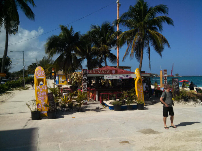 Cheap Drinks Beach Nassua Bahamas Cruise the Caribbean with a Military and Veteran Discount
