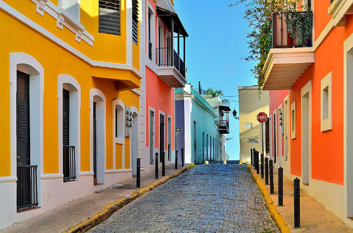 Colorful Old San Juan Cruise the Caribbean with a Military and Veteran Discount