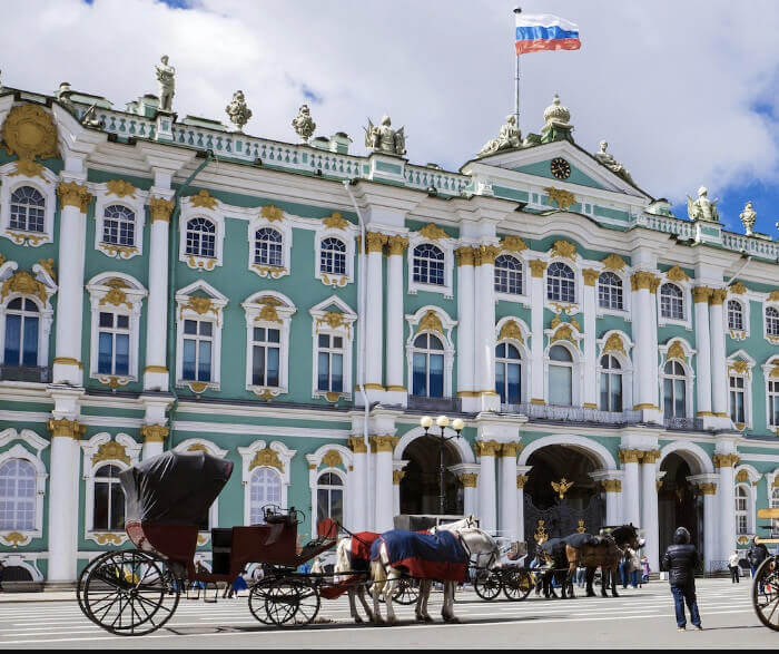 Hermitage St.Petersburg Russia Military and Veteran discounts on all Northern Europe cruises