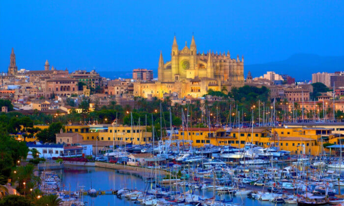 Palmade Mallorca Spring Break Cruise Deals for Military Families in Europe
