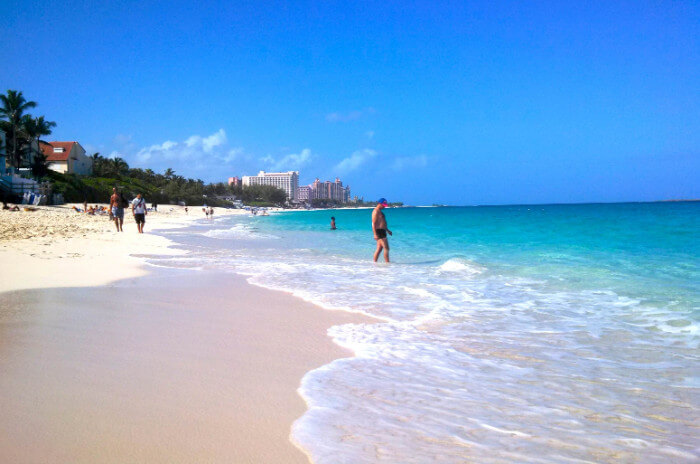 Cabbage Beach Nassau, Atlantis Cruise the Caribbean with a Military and Veteran Discount