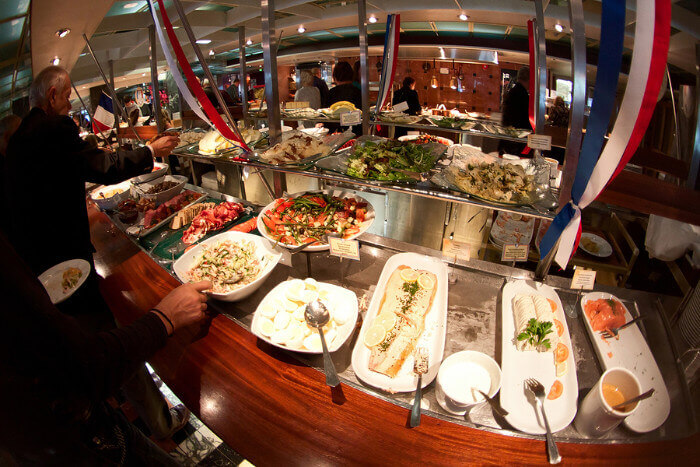Cruise Buffet Food