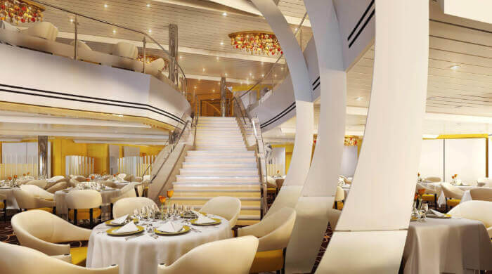 Dining Room On Koningsdam Holland America Cruise Line