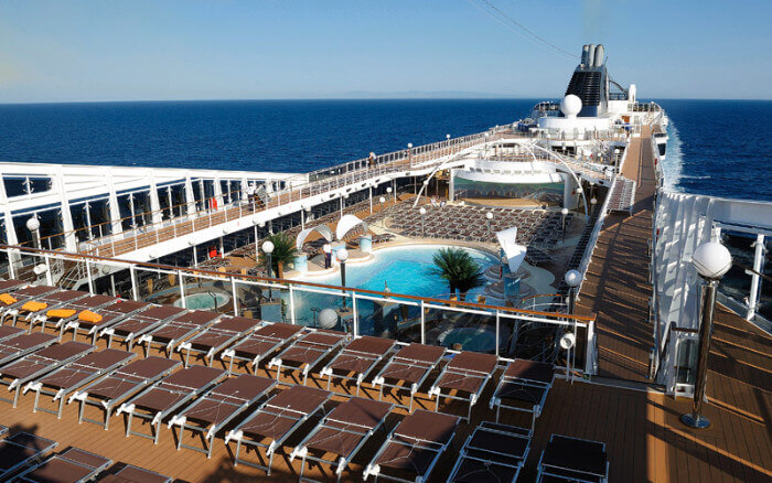Msc Cruises Msc Poesia Pool Deck