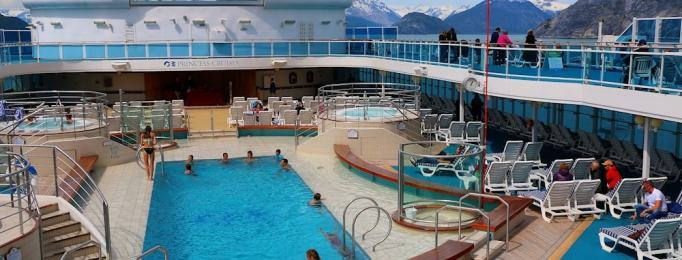 pool deck alaska cruise