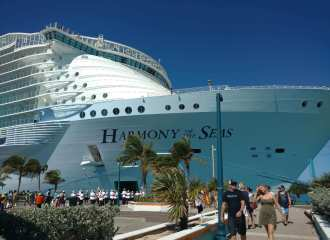 Harmony Of The Seas Front