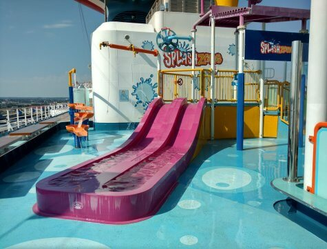 Splashzone on the Carnival Pride