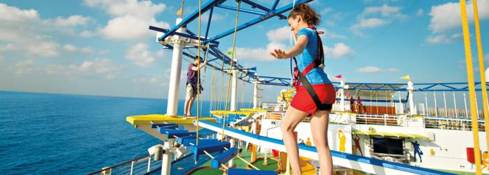 Find Deals Skycourse on Carnival