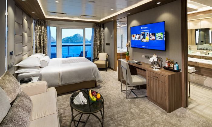 Luxury Cruise Discounts for Military and Veterans Azamara spa suite