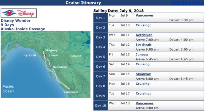 Disney Cruises with Military Discounts Disney Wonder July 9