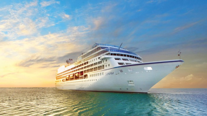 Military and Veteran Discounts on Oceania Cruise Line Oceania Sirena