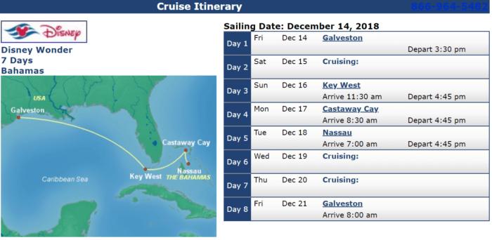 Disney Cruises with Military Discounts DisneyWonder Dec 14