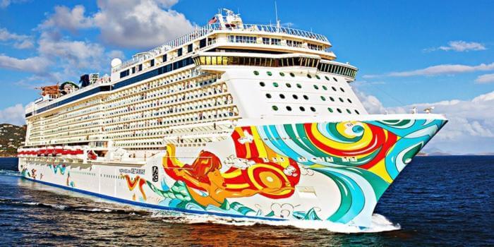 Today's Promotions from Norwegian Cruise Line Norwegian Getaway cruiseship