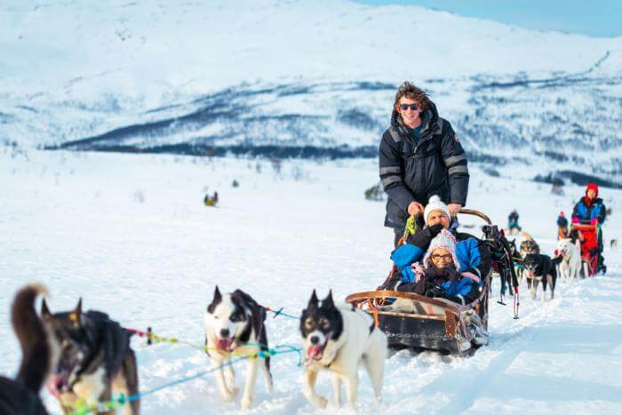 shore excursions Tromso Dog Sled Tour